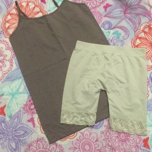 Other - 3 for $10~Light Shape Wear Tank and Shorts 24